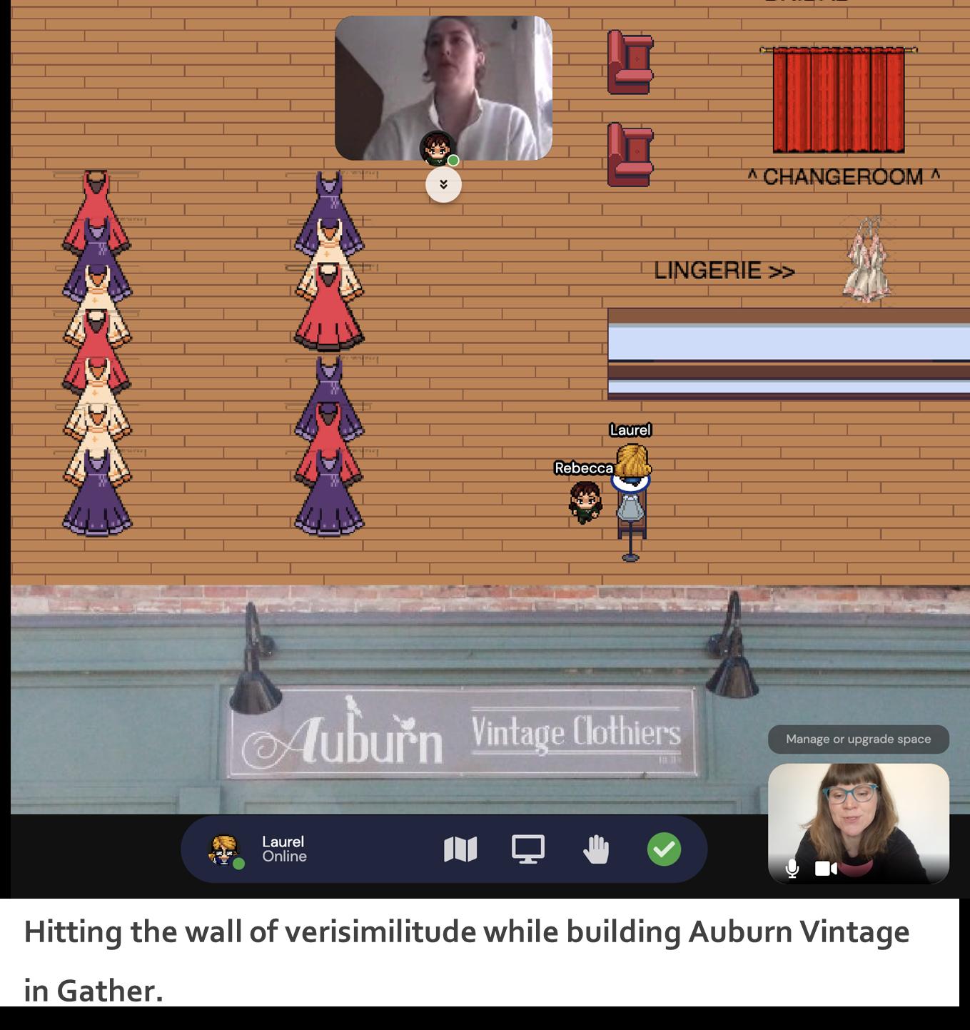 Building Auburn Vintage Store in Gather