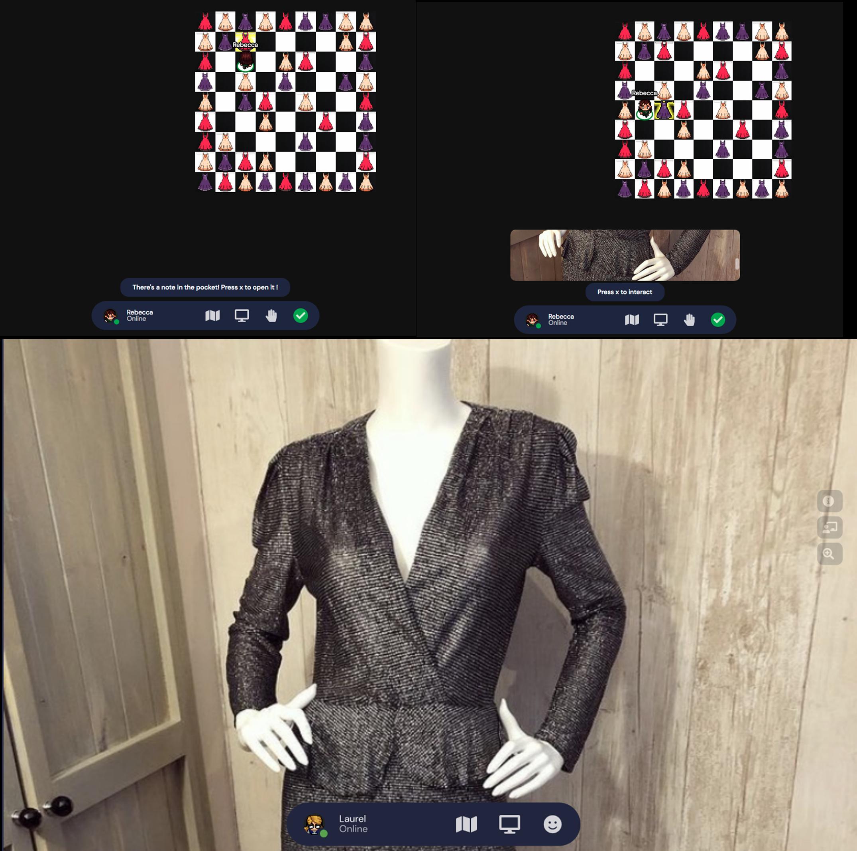 Auburn Vintage Dress Maze Prototype 1